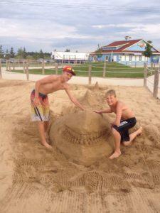Shark in Brock's Sandbox