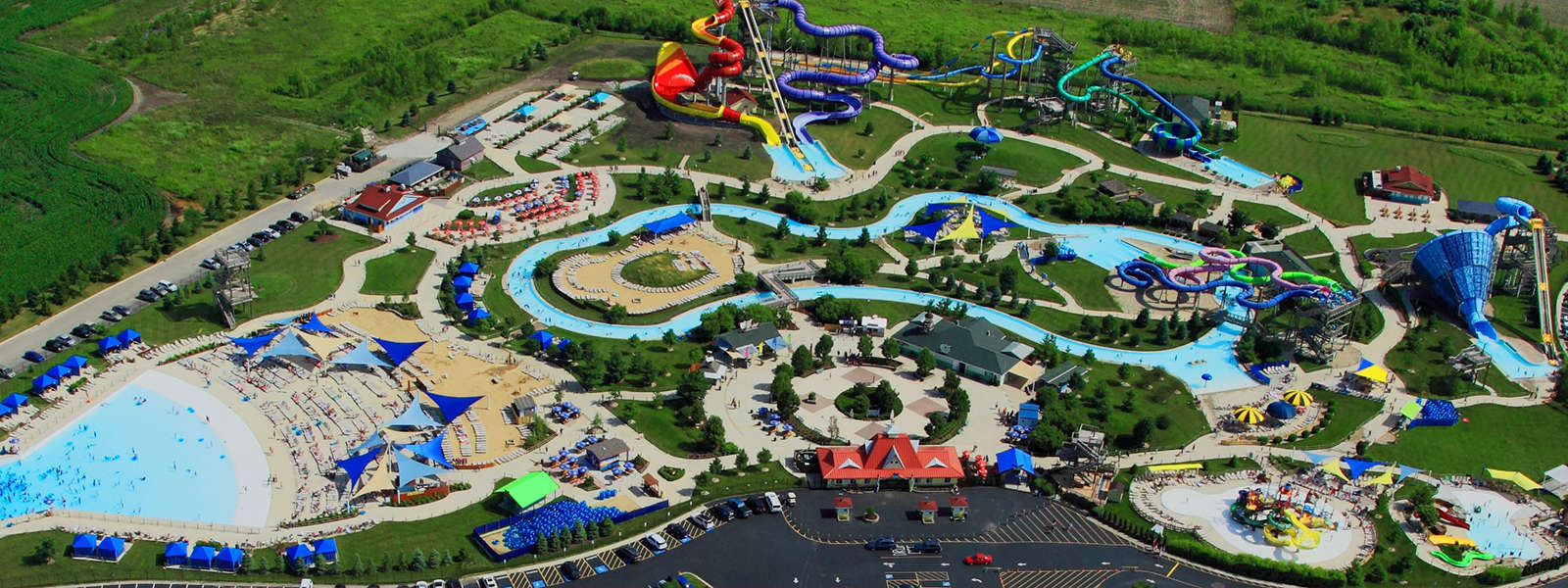 Summer Fun Includes 20 Waterslides, 1/4 Mile Lazy River, Huge Wave Pool,  Multiple Kiddie Areas, And More! Located In Yorkville, IL U2013 We Are Just A  Few ...