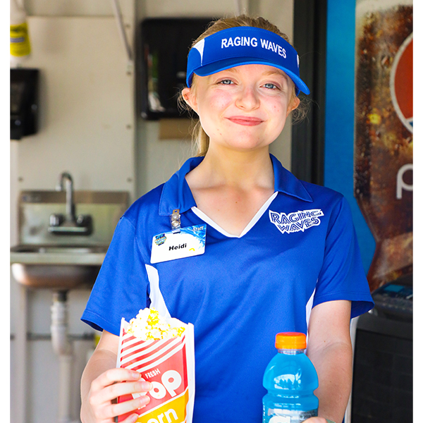 Food Services Team Member at Raging Waves Waterpark